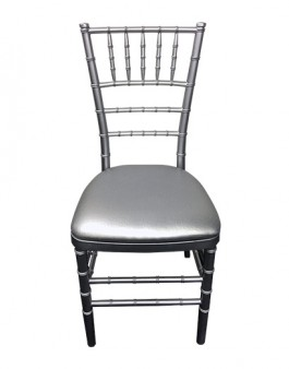 Tiffany-Silver-Silver-Cush  sc 1 st  Tiffany chairs for hire & Silver tiffany chair hire in Sydney- great prices and service